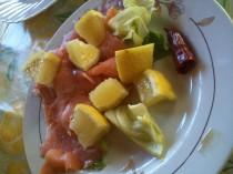 salmone insalata limone